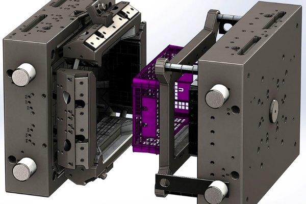 Пресс-форма для металла и пластмассы с любым типом управления